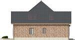 Projekt domu Epoka 2 - elewacja boczna 1