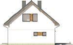 Projekt domu Fortel - elewacja boczna 2