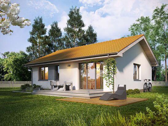 Projekt domu Irysówka - widok 1