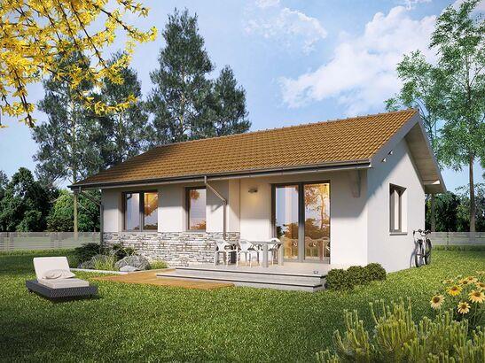 Projekt domu Jeżówka - widok 2