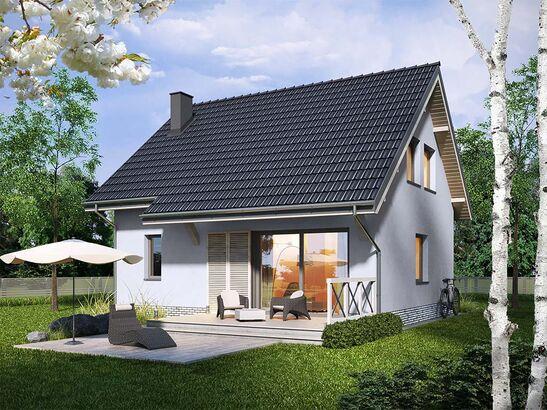 Projekt domu Kalinówka - widok 1