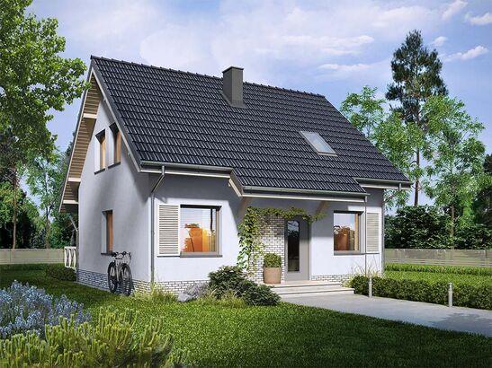 Projekt domu Kalinówka - widok 2