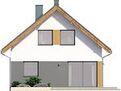Projekt domu Lago - elewacja tylna