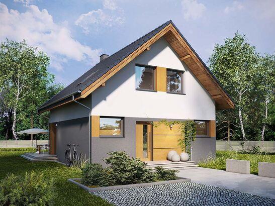 Projekt domu Lago - widok 1