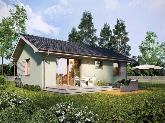 Projekt domu Miętówka - widok 2