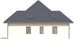 Projekt domu Modest - elewacja boczna 1