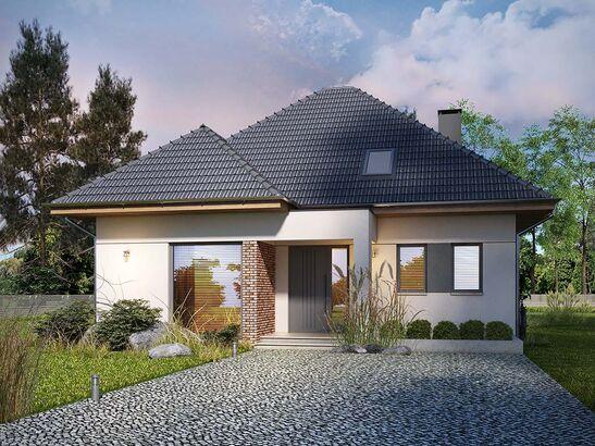 Projekt domu Modest - widok 2