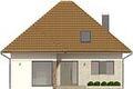 Projekt domu Modest 2 - elewacja przednia