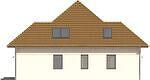 Projekt domu Modest 2 - elewacja boczna 1