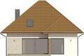 Projekt domu Modest 2 - elewacja tylna