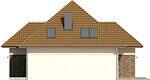 Projekt domu Modest 2 - elewacja boczna 2