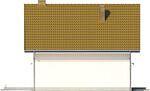 Projekt domu Płomyk - elewacja boczna 2