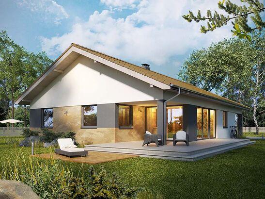 Projekt domu Portofino - widok 1