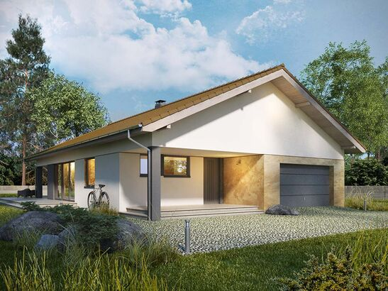 Projekt domu Portofino - widok 2