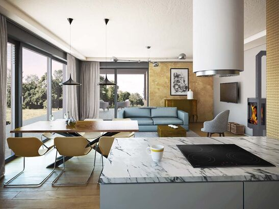 Projekt domu Portofino - widok 3