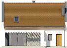 Projekt domu Primo 2 - elewacja tylna