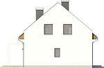 Projekt domu Primo 2 - elewacja boczna 2