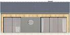 Projekt domu Studio 21 - elewacja tylna