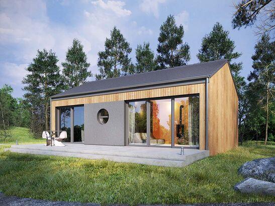 Projekt domu Studio 21 - widok 1