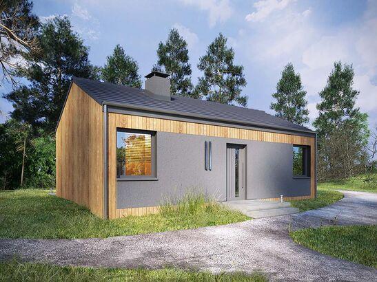 Projekt domu Studio 21 - widok 2