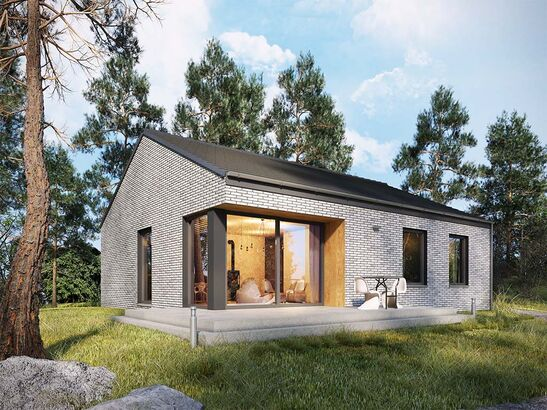 Projekt domu Studio 27 - widok 1