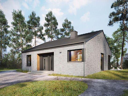 Projekt domu Studio 27 - widok 2