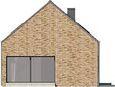 Projekt domu Studio 42 - elewacja boczna 1