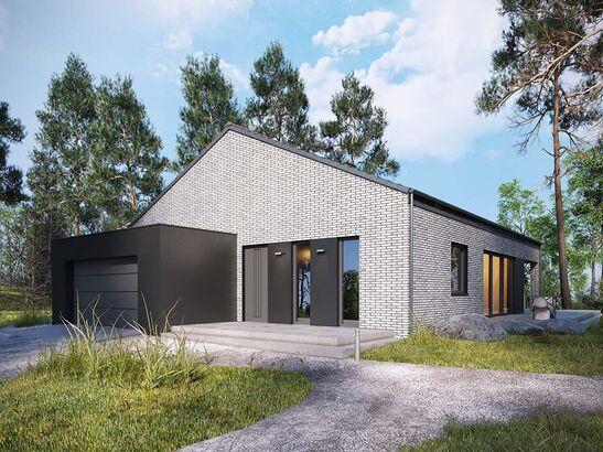 Projekt domu Studio 49 - widok 2