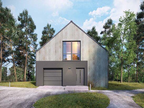 Projekt domu Studio 63 - widok 2