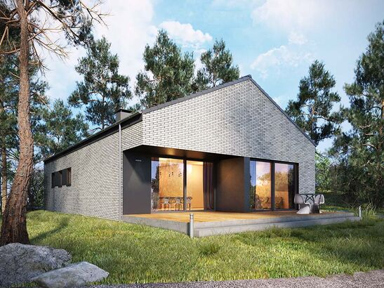 Projekt domu Studio 89 - widok 1