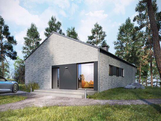 Projekt domu Studio 89 - widok 2