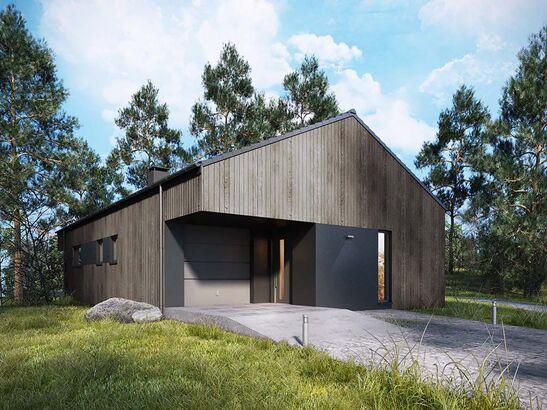 Projekt domu Studio 95 - widok 2