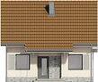 Projekt domu Werbena - elewacja przednia