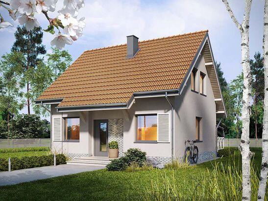 Projekt domu Werbena - widok 1