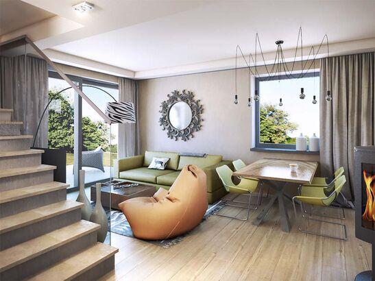 Projekt domu Werbena - widok 3