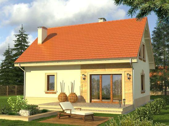 Projekt domu Calvados - widok 2