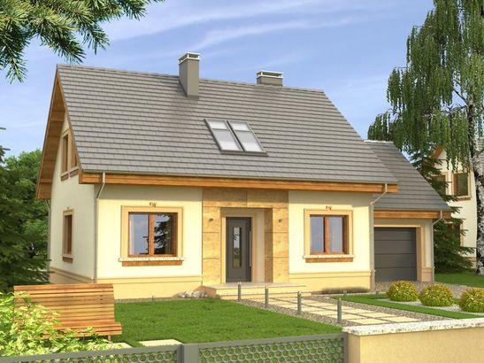Projekt domu Elegant - widok 1