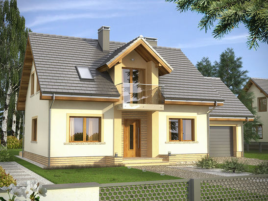 Projekt domu Estyma - widok 2