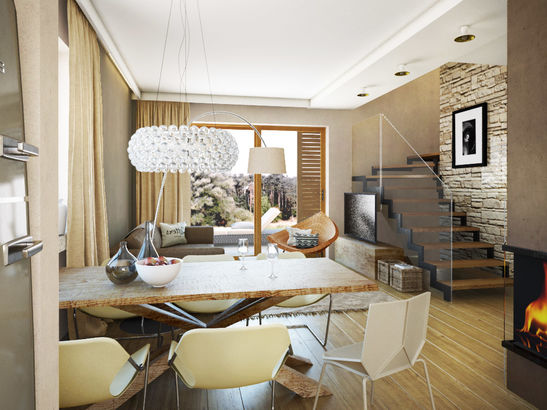 Projekt domu Estyma - widok 3